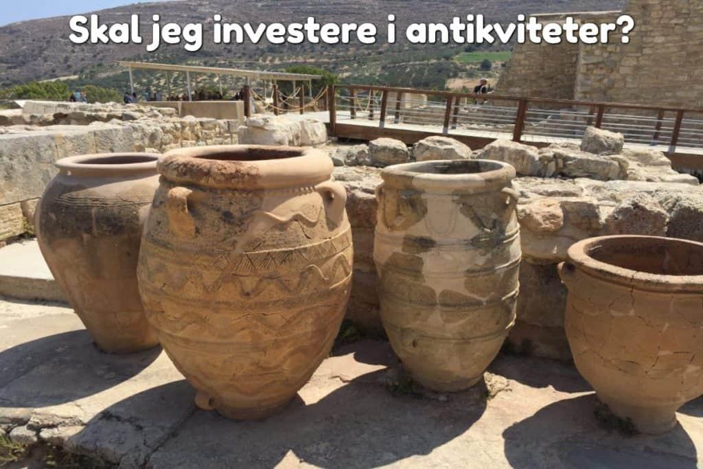 Skal jeg investere i antikviteter?