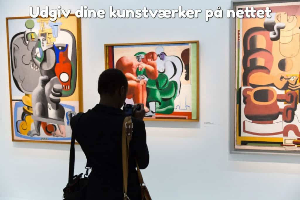 Udgiv dine kunstværker på nettet